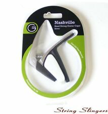 G7th Nashville Capo for 6-String Acoustic or Electric, Silver 0058