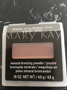 Mary Kay Mineral Cheek Color BRONZE DIVA- NEW!! Discontinued
