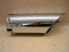Harley  Auspuff Exhaust Endstück Muffler Cap Slash Cut  (#521)