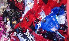 LOT LINGERIE 10 string  dentelle coton FEMME