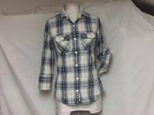 Superdry Check 3/4 Sleeve Tops & Shirts for Women