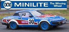 Triumph TR7 Genuine Minilite Alloy Wheels 6x15 inc Nuts & Caps SET OF FOUR