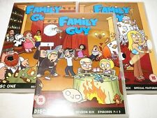 "FAMILY GUY SEASON SIX, MODERN ANIMATED, 3 DVDS, PAL ""PREOWNED"" AUZ SELLER"
