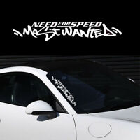 White Need For Speed Scratchr Truck Windshield Decal Ca Stickers Car Accessories