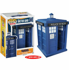 "*NEW* Dr Who - Blue Tardis 6"" 6 inch #227 Pop! TV Vinyl - Funko 5286"