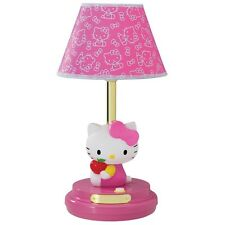 NEW Hello Kitty Table Lamp- Pink KT3095AP