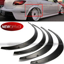 Will Fit Altima Wheel Fender Flares wide Body Flexible ABS Plastic Universal