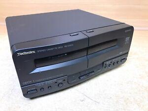 Faulty Technics Twin Cassette Player Unit RS-CH510 Component RS-CH510E-K