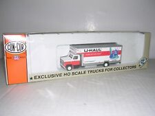 "CON-COR #7003  International Cab w/25' U Haul Van ""New York"" Built-up H.O.1/87"