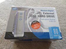 Western Digital Dual-Option 80GB External 7200RPM (WDXUB800BBNN) HDD