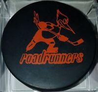 1974-75 WHA PHOENIX ROADRUNNERS vintage HOCKEY CCM OLD GAME PUCK SLUG CANADA
