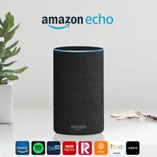 Amazon Echo (2nd generation) - Smart speaker with Alexa - Charcoal Fabric New