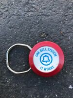 Vtg One Bell System Advertising Promo Telephone Rotary Key Chain Holder Employee