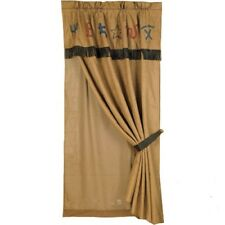 Western Branded Curtain with Valance and Sheer Lining With FREE Shipping!