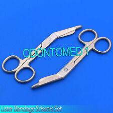 2 Lister Bandage Scissors 4.5