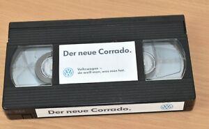 VHS Videokassette »Der neue Volkswagen Corrado«, ohne Videohülle