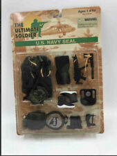 1998 The Ultimate Soldier - U.S. NAVY SEAL Accessory Set - NEW