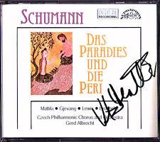 Karita MATTILA Signiert SCHUMANN Paradies und die Peri GERD ALBRECHT 2CD Pitti