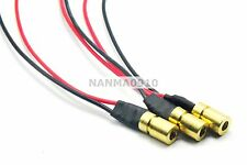 3pcs/lot 780nm 3mW 3VDC IR Infrared Laser Dot Diode Module Mini-Type