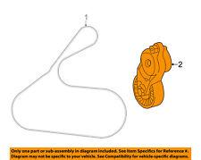 TOYOTA OEM-Serpentine Fan Belt Tensioner 166200V022