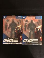 LOT OF 2 Hasbro G.I. Joe Classified Series Cobra Infantry Action Figures New!