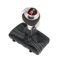 Original Audi S5 Schalthebelgriff S-tronic Tuning Knauf A5 Schaltknauf Titangrau