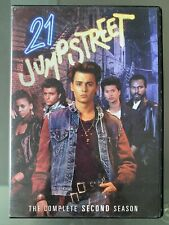 21 Jumpstreet The Complete Second(2nd) Season. 22 Action Packed Episodes 1987