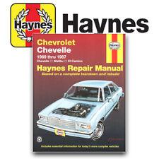 Haynes Publication 24020 Chevelle Malibu El Camino Repair Manual Service Book
