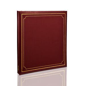 Self Adhesive Photo Album 24 Sheet/48 Side 32x36cm