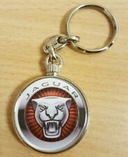 Jaguar Logo Metallic Keyring, Brand New