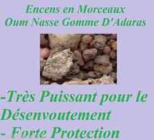Esotérisme magie rituels  Oum Nasse Gomme Adaras   10 Gr - 20Gr
