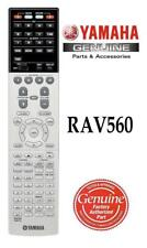 New Genuine Yamaha Rav560 Zw91710 Audio Receiver Remote Control fits Rx-A3070