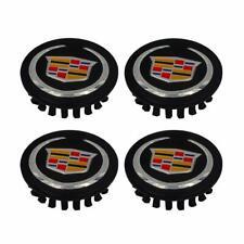 """4x 2.6"""" 66mm Fit Cadillac Wheel Center Caps ATS CTS DTS SRX STS XLR XTS Rim Cap"""