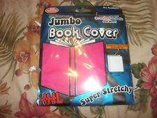 XXL JUMBO Pink Book Cover Stretch Sox sock School College (B161)