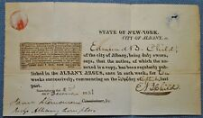 Nice Stampless Cover Dated 1823 Albany, New York