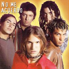 No Me Acuerdo : Nada Que Perder CD
