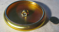 """RARE!!""  ANTIQUE STEUBEN GOLD AURENE VANITY JEWELRY EAR RING PIN ART GLASS TRAY"