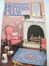 """June July 1990 Annies Quick & Easy Craft Pattern Club #63 Wedding Gown Doll 11"""""""