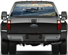 Army Air Forces Mission Over Normandy Rear Window Graphic Decal Truck SUV