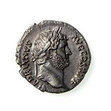 **Hadrian Silver Denarius 117-138AD scarce rev. **