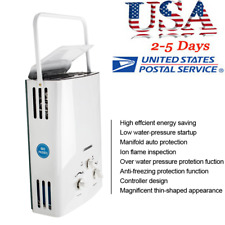 6L Lpg Gas Instant Boiler Propane Tankless Home Hot Water Heater Outdoor Usa New