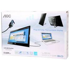 """AOC E1659FWU 15.6"""" HD USB 3.0 PORTABLE LED MONITOR"""