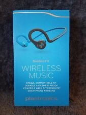 Plantronics BackBeat Fit Wireless Sport Headphones Sweatproof Blue