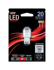 Feit LED GY6.35 Base Warm White 120 Volt 160 Lumens Bulb Non Dimmable
