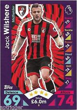 2016 / 2017 EPL Match Attax Base Card (8) Jack WILSHERE AFC Bournemouth