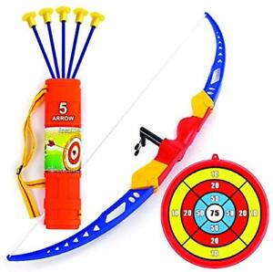Toysery Bow and Arrow Set for Kids – Archery Toy with Recurve Bow with 5 Suct...