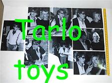 FABRIZIO DE ANDRE' + DORI GHEZZI Viareggio Bussola Domani 1981 set 8 foto photo