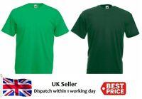 New Girls Children Kids Plain Green T Shirt School Uniform High Quality top