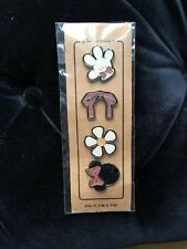 Coach Disney Minnie Mouse Pin Badge Set New