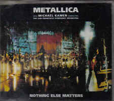 Metallica-Nothing Else Matters cd maxi single incl video